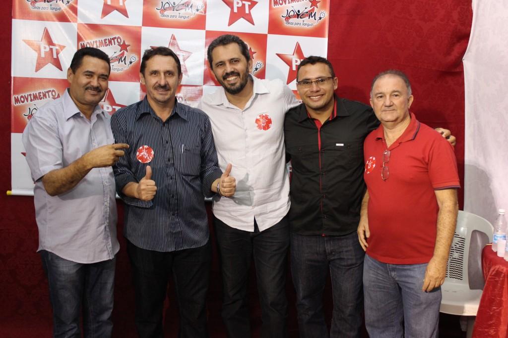 Deputados Moisés Braz e Elmano Freitas estiveram presentes