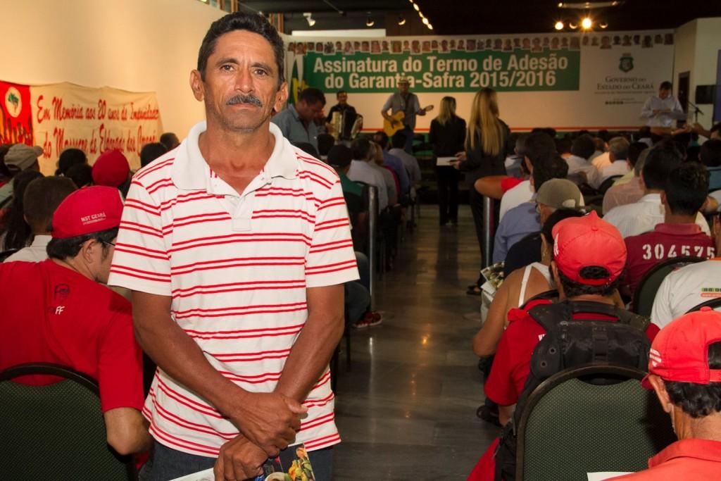 Agricultor Francisco Antônio Domingos