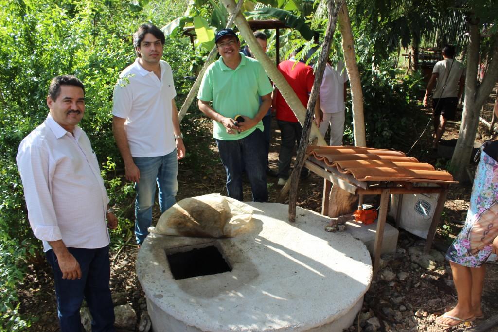 Cisterna com água de reúso