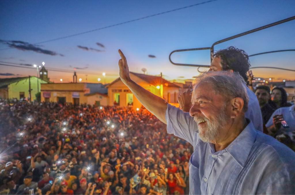 Lula em Cedro